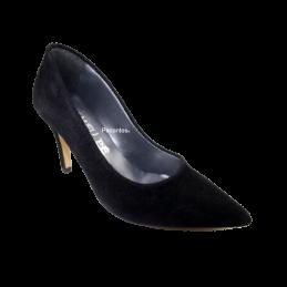 Sapato Senhora Em Camurça...